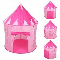 CHILDRENS KID PINK CASTLE POP UP PLAY TENT PLAY HOUSE INDOOR OUTDOOR GARDEN GIRL