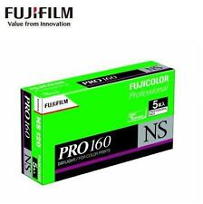 5 x Fujifilm FUJICOLOR Fuji PRO 160 PRO160 160NS NS Color 120 Prints Film