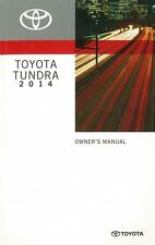 2014 Toyota Tundra Owners Manual User Guide Reference Operator Book Fuses Fluids