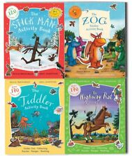 Julia Donaldson and Axel Scheffler The Stick Man Activity 4 Books Collection Set