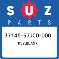 37145-57JC0-000 Suzuki Key,blank 3714557JC0000, New Genuine OEM Part