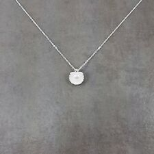 Seashell Clam Pearl Silver Plated Necklace in Gift Box Choker Fashion Ocean Sea