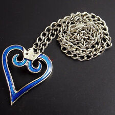 Kingdom Hearts Crown Logo Anime Cosplay Pendant Heart Necklace Alloy Pendant 1PC