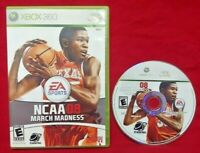 EA Sports NCAA March Madness 08 College Basketball Microsoft Xbox 360 Working!
