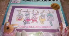 "Design Works BALLERINA BUNNIES COUNTED CS Kit Hard to Find 10"" x 18"""