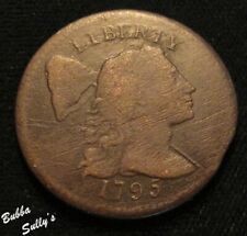 1795 Liberty Cap Large Cent <> S-78 R1 Plain Edge <> Vg Details