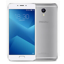 "Unlocked Meizu M5 Note 5.5"" 3GB MTK Helio P10 Flyme 5.2 4G Mobile Phone Silver"
