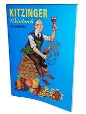 Kitzinger Weinfibel, DEUTSCH Weinbuch