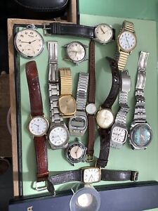 Watches spares or repair Rotary, Sekonda, Avia, Roamer, Accurist And Others.