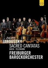 Bach And Telemann - Scared Cantatas - Philippe Jaroussky Freiburger (NEW DVD)