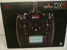 Spektrum DX6 6-Channel DSMX Transmitter Radio RC Helicopter Airplane 2.4GHz