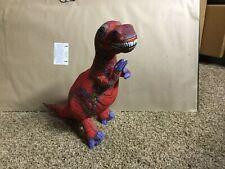 (3) Applause Plush Dinosaurs T Rex, Stegosaurus, Plateosaurus 1992