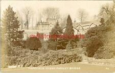 REAL PHOTOGRAPHIC POSTCARD OF HAREFIELD HYDRO, PATELEY BRIDGE, WEST YORKSHIRE