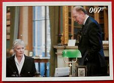 JAMES BOND - Quantum of Solace - Card #060 - M Demands More Time For Bond