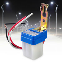 Durable Automatic AC 220V On Off Street Light Lamp Control Photo Switch Sensor