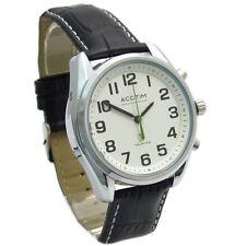 Acctim Talking Radio Controlled Atomic Men's Watch HIGHVIEW Analog 60343