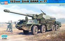 Hobby Boss 152mm ShkH DANA vz. 77 vz77 + Parti di acquaforte 1:35 Modello Kit