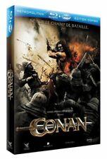 CONAN (JASON MOMOA,STEPHEN LANG) BLU-RAY COMBO NEUF SOUS BLISTER (BLU-RAY + DVD)