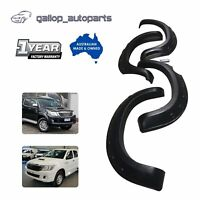 For Toyota Hilux MK6 SR5 SR VIGO Year 2011-2014 Fender Flares 4Pcs Set