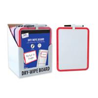 A4 WHITEBOARD PEN DRYWIPE CLEAN BOARD WIPE BLACK WHITE FOR KIDS,HOME,OFFICE-2855