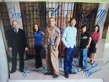 Prison Break autographe 6 signatures Miller Purcell Callies Keach Allman Tunney