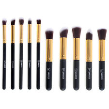 10PC Makeup Brush Tool Set Cosmetic Eyeshadow Face Powder Foundation Lip Br