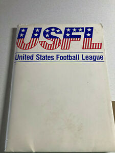RARE 1984 USFL Items Blank Contract Championship Program ++ More Nice Condition