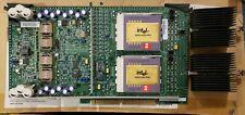 RARE INTEL 656631-303 PBA DUAL-PROCESSOR BOARD W/ 2X PENTIUM PRO CPU & HEATSINKS