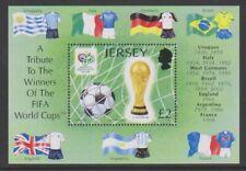 Jersey - 2006,Coppa Del Mondo di Calcio Foglio - Nuovo senza Linguella - Sg