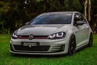 Volkswagen Golf MK7 Badge Inlay Set Golf 7 GTI R TDI Front and Back
