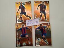 Cromos Barcelona Ronaldinho Eto'o deco Xavi Megacracks 2005 Card tarjeta panini