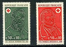 STAMP / TIMBRE FRANCE NEUF LUXE N° 1735/1736 ** CROIX ROUGE / CELEBRITE