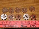 NOS New 9 pin wafer type vacuum tube amp sockets 12ax7 size lot of 10