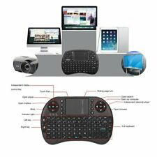 Portable Mini WiFi Wireless Keyboard Air Mouse Touchpad Remote Control TV Box I8