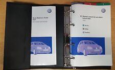 GENUINE VW GOLF HANDBOOK OWNERS MANUAL WALLET 2004-2008 PACK D-755
