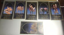 Six Fontanini Nativity Story Cards