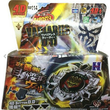 Variares D:D Metal Fury Fusion 4D BB-114 Beyblade STARTER Set Launcher Fight Toy