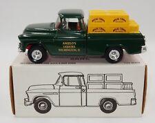 ERTL 1955 CHEVY CAMEO PICKUP TRUCK ANGELO'S LIQUORS #B969 REGAL CHINA W/ BOX!