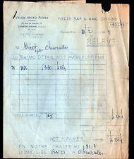 """CLERMONT-FERRAND (63) ACCESSOIRES de VELOS & MOTOS """"VELOM MOTO PIECES"""" en 1959"""