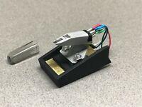 Pats Audio Dual Turntable TK-12 Cartridge Holder Plus New Ortofon Omega 1e
