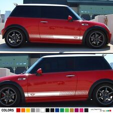 Sticker Decal Stripe Kit for Mini Cooper R50 R56 F55 Door Handle Trim Emblem
