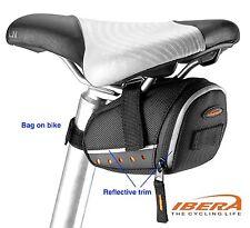 Bike Seat Saddle Pouch MTB Bicycle Tail Bag Small Reflective IBERA IBSB13XS 1