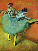 DANCERS AT THE BAR BY DEGAS ARTIST PAINTING REPRODUCTION HANDMADE OIL CANVAS
