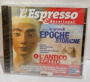 L'ESPRESSO EDUCATIONAL LE GRANDI EPOCHE STORICHE ANTICO EGITTO software