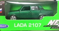 Welly VAZ LADA 2107 Russian Car 1:60 Scale Die-Cast Green Colour Metal NEW
