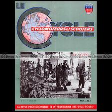 LE CYCLE N°14/1959 ★ SPECIAL TOUR DE FRANCE ★ LAVALETTE GML 50 FAVOR SACHS