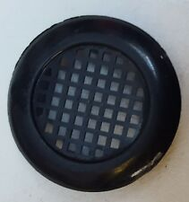 40mm Black or white Round Cupboard Vent Snap in fixing Maximum hole size 28mm