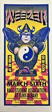 Weezer Concert Handbill Mark Arminski Yin Yang Blue Right