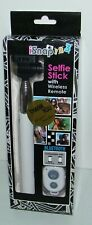 iSNAP Selfie Stick w/ Wireless Remote Bluetooth Compatible iPhone. iPod, Android