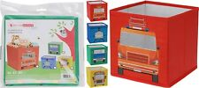 Small Fabric Storage Boxes Collapsible Childrens Toy Box Room Tidy Organiser